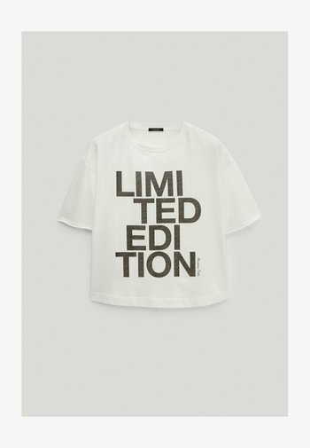 LIMITED EDITION - Print T-shirt - white