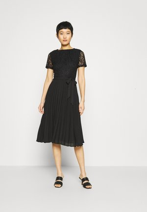 ALICE PLEAT MIDI - Cocktail dress / Party dress - black