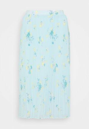 VIPLISSEA NEW MIDI SKIRT - Pleated skirt - faded denim