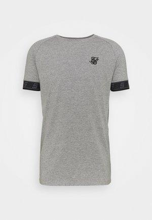 EXHIBIT TECH TEE - T-shirt con stampa - grey marl