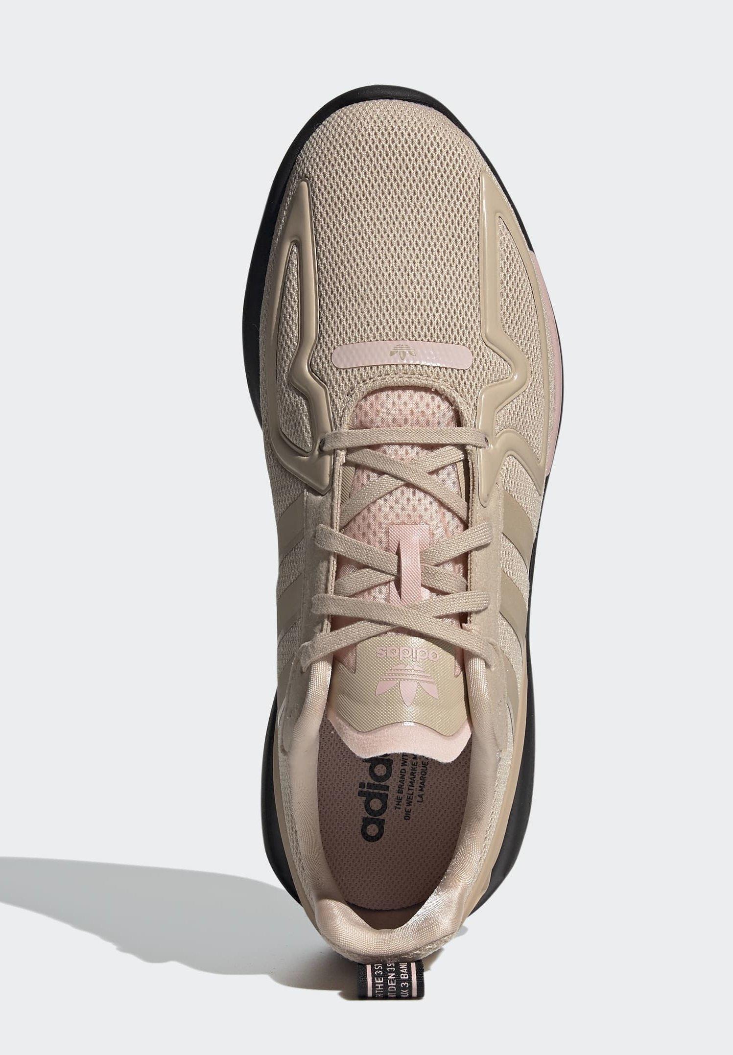 adidas Originals ZX 2K FLUX SHOES - Baskets basses - beige ...