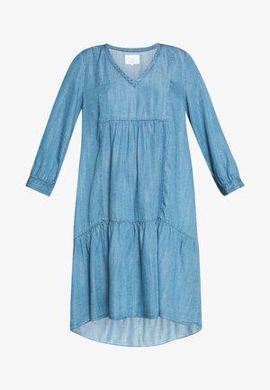 VIKTORINE - Denimové šaty - light blue denim