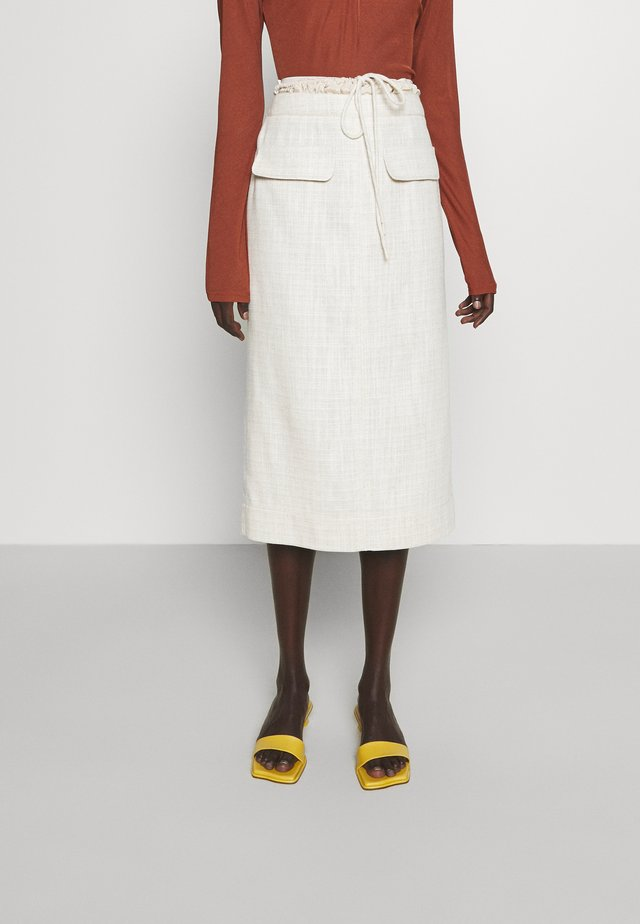 TAYLOR SKIRT - Falda de tubo - blend beige