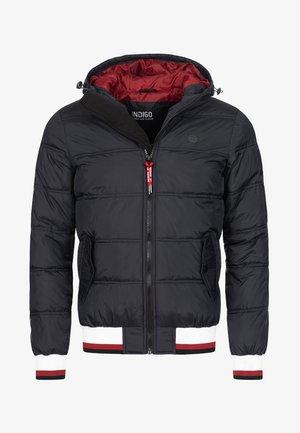 REGULAR  FIT - Winterjas - black
