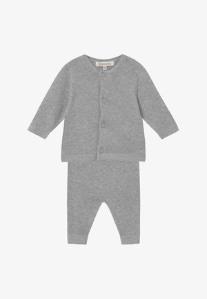 SET - Vest - mottled grey