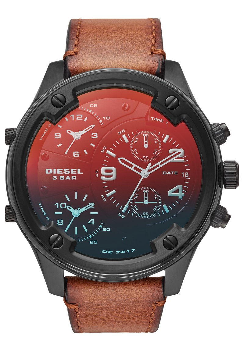 Diesel - BOLTDOWN - Chronograph watch - brown
