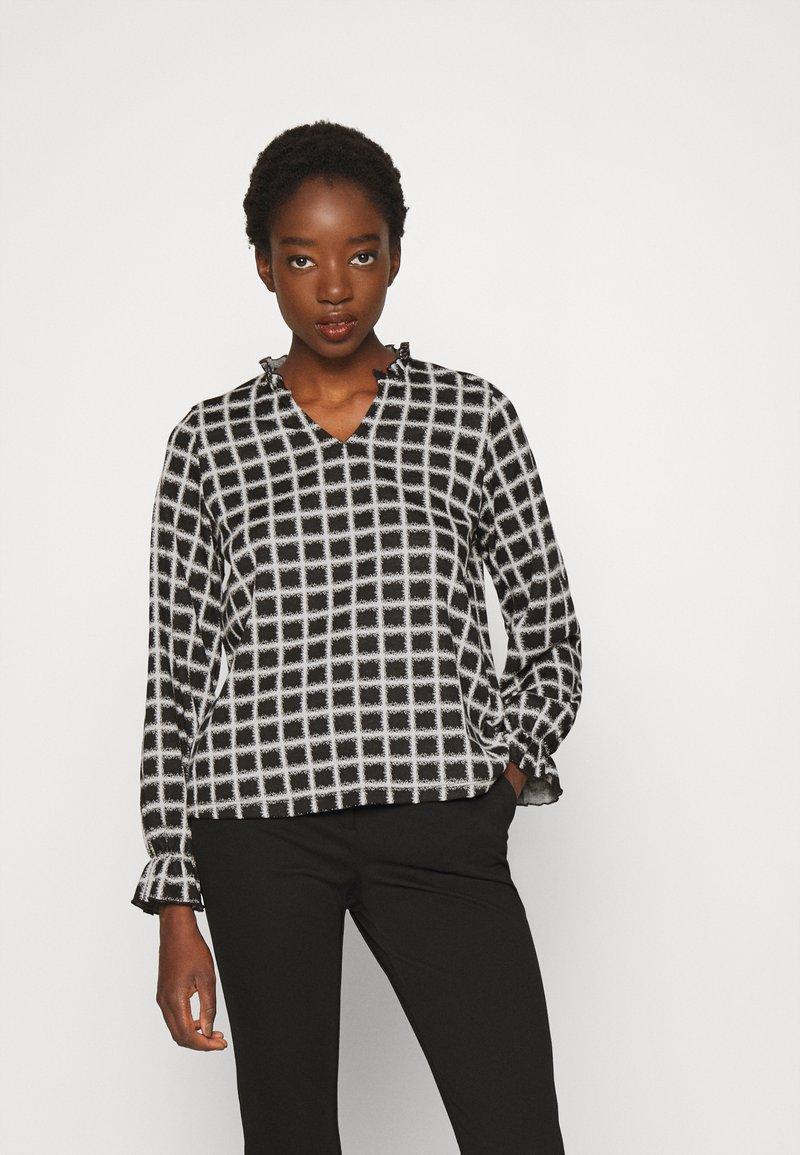 ONLY - ONLALMA LORENA - Long sleeved top - black