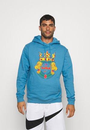 LEBRON JAMES HOODIE  - Sweatshirt - dutch blue