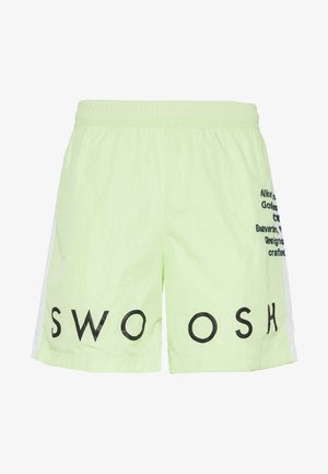 Shorts - barely volt/white