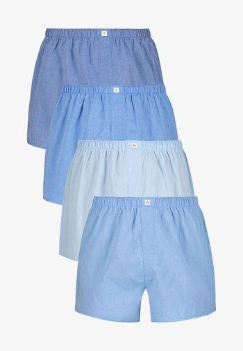 4 PACK - Boxer shorts - blue