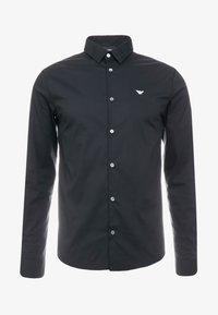 Emporio Armani - CAMICIA - Camisa - black - 4