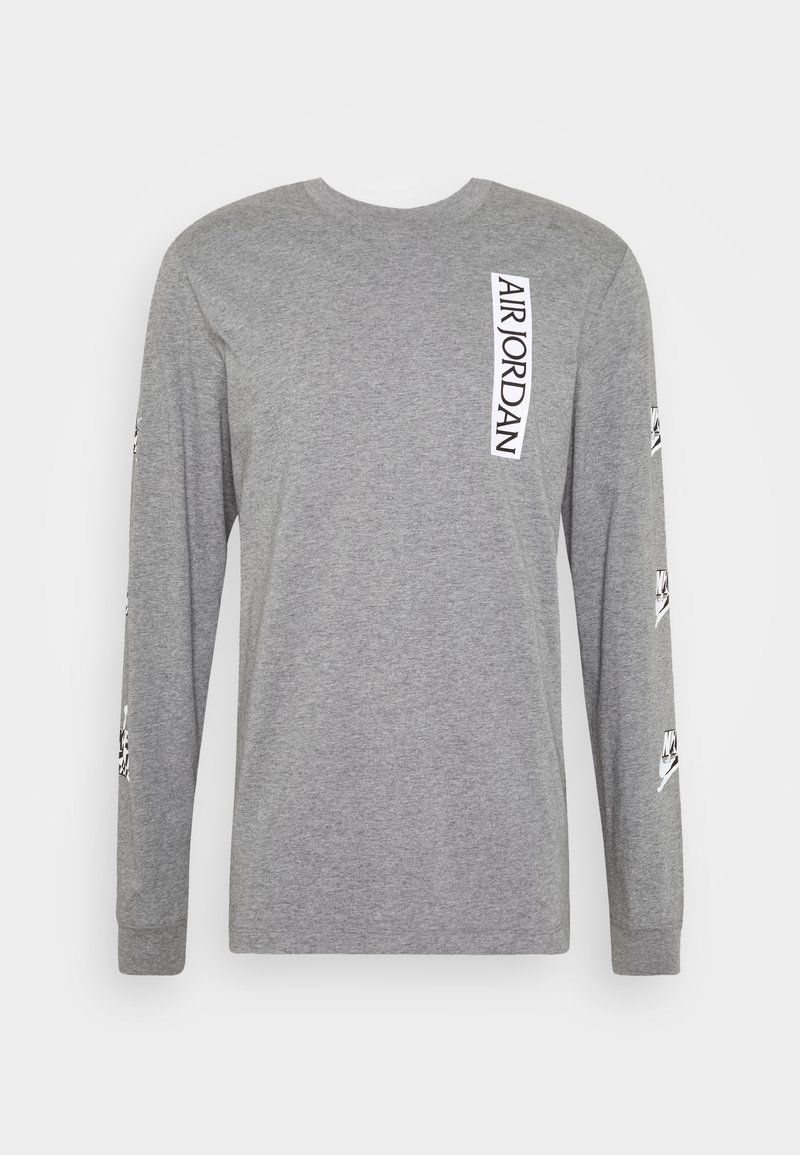 Jordan CLASSICS CREW - Langarmshirt - white/gym red/weiß zUZF05
