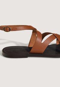 OYSHO - Sandals - brown - 3