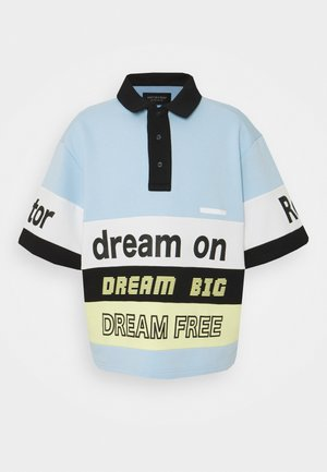 DREAM ON - Polotričko - light blue