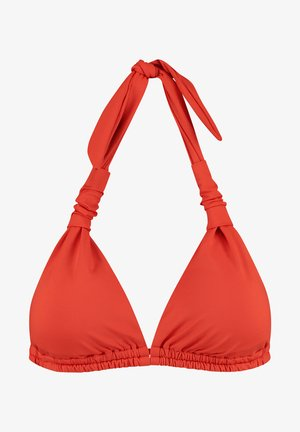 HONEY BIBI - Bikini top - tropic red