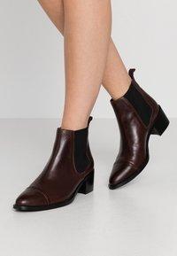 Bianco - Ankle boots - dark brown - 0