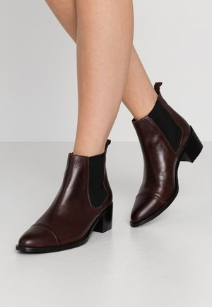 DRESS CHELSEA - Ankle boots - dark brown