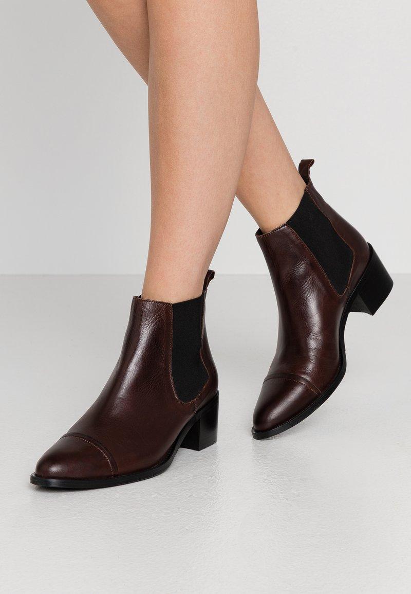 Bianco - Ankle boots - dark brown