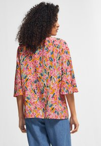 comma casual identity - Blouse - apricot flower - 1
