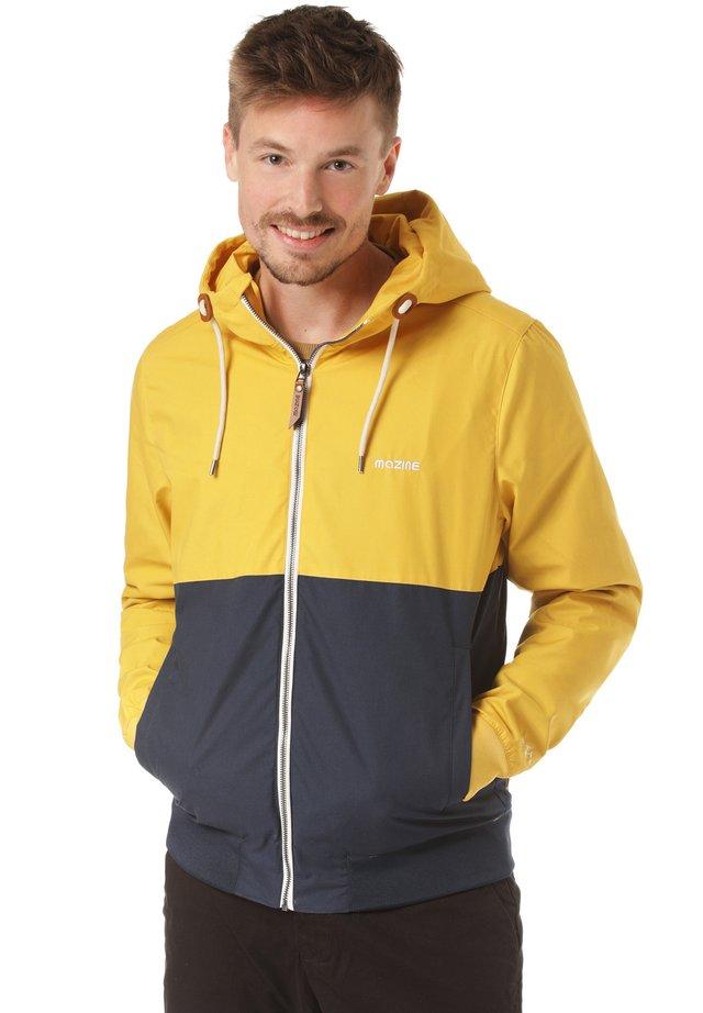 CAMPUS LIGHT - Summer jacket - yellow