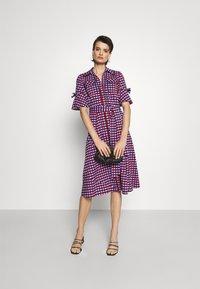 Diane von Furstenberg - REBECCA DRESS - Shirt dress - multi coloured - 1