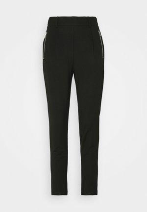 ELLIA POPYE PANTS - Kalhoty - black