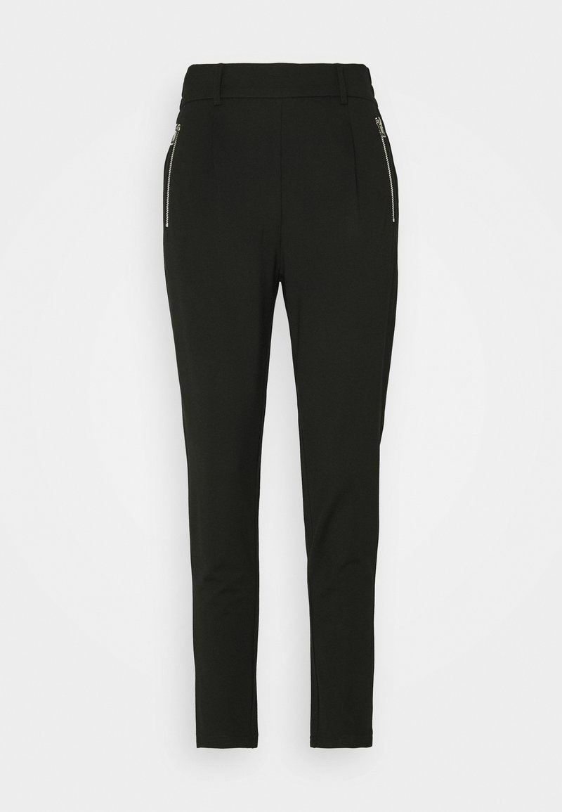 Moss Copenhagen - ELLIA POPYE PANTS - Trousers - black