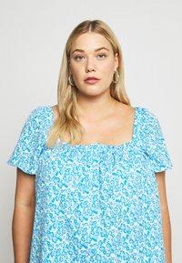 Fashion Union Plus - BEANA - Blouse - blue/white - 5
