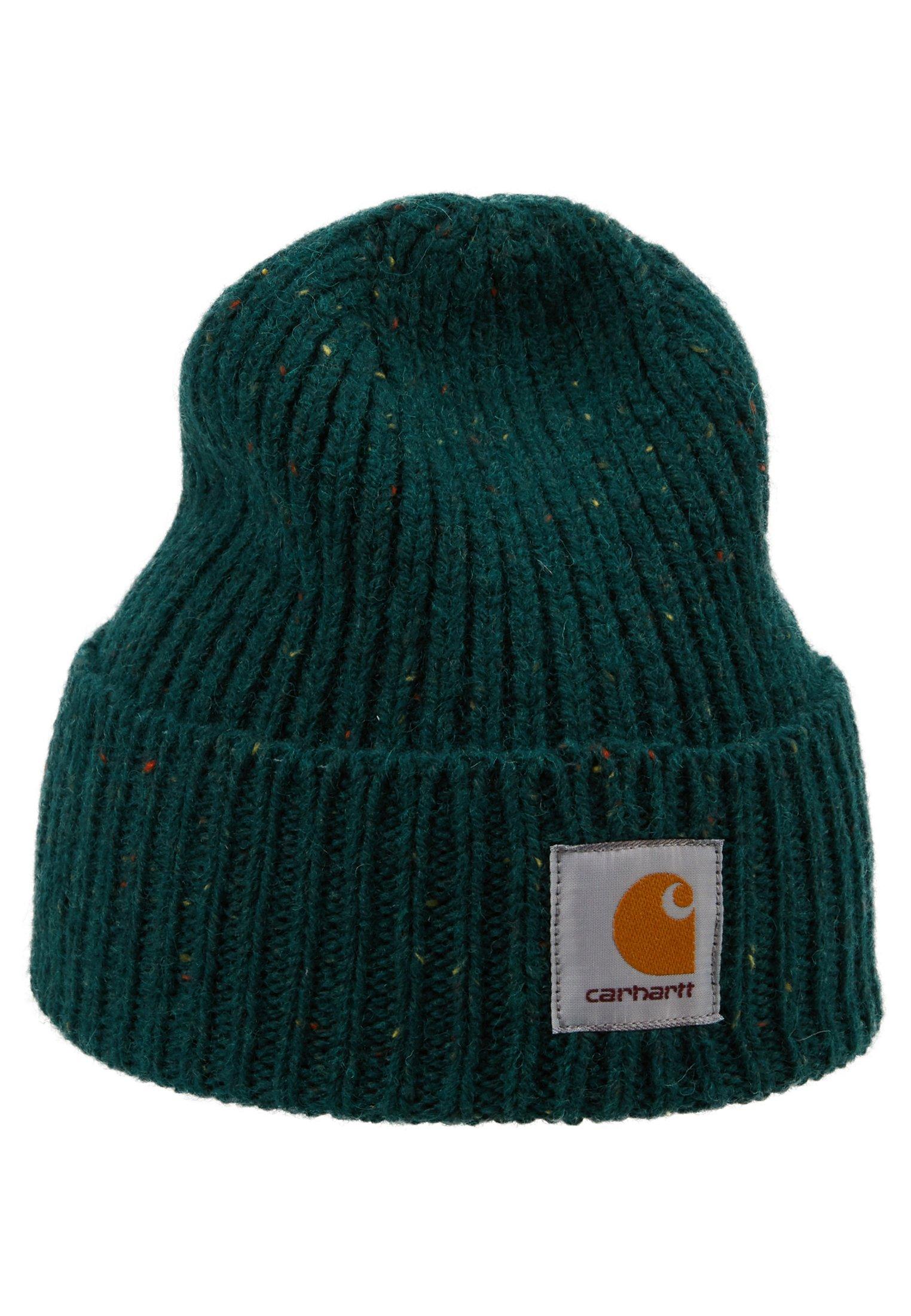 Carhartt Wip Anglistic Beanie - Mütze Bottle Green Heather/dunkelgrün