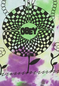Obey Clothing - IN BLOOM - Printtipaita - purple - 2