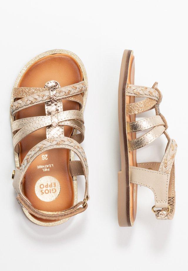 PIGNOLA - Sandaler - beige