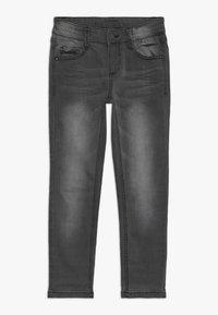 s.Oliver - Slim fit jeans - grey/black denim - 0