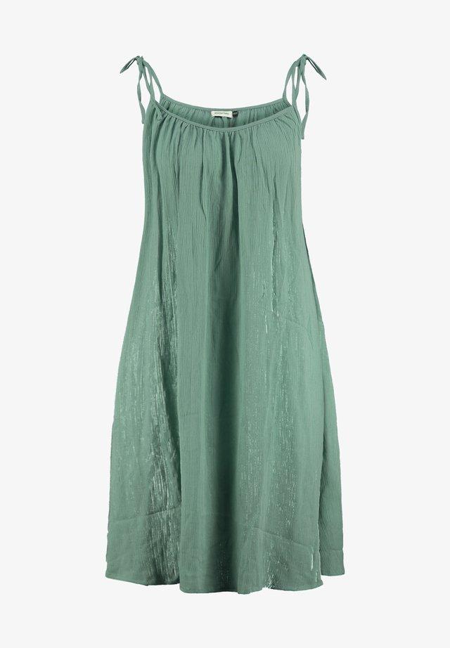 JURK MYLA - Korte jurk - green