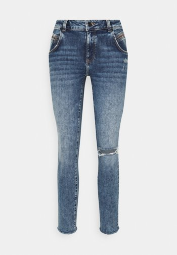 ADRIANA - Jeans Skinny Fit - mid ripped glam