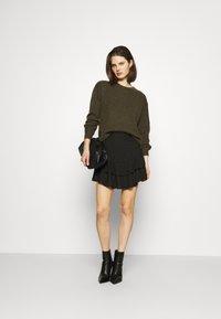 Guess - TATIANA SKIRT - A-line skirt - jet black - 1