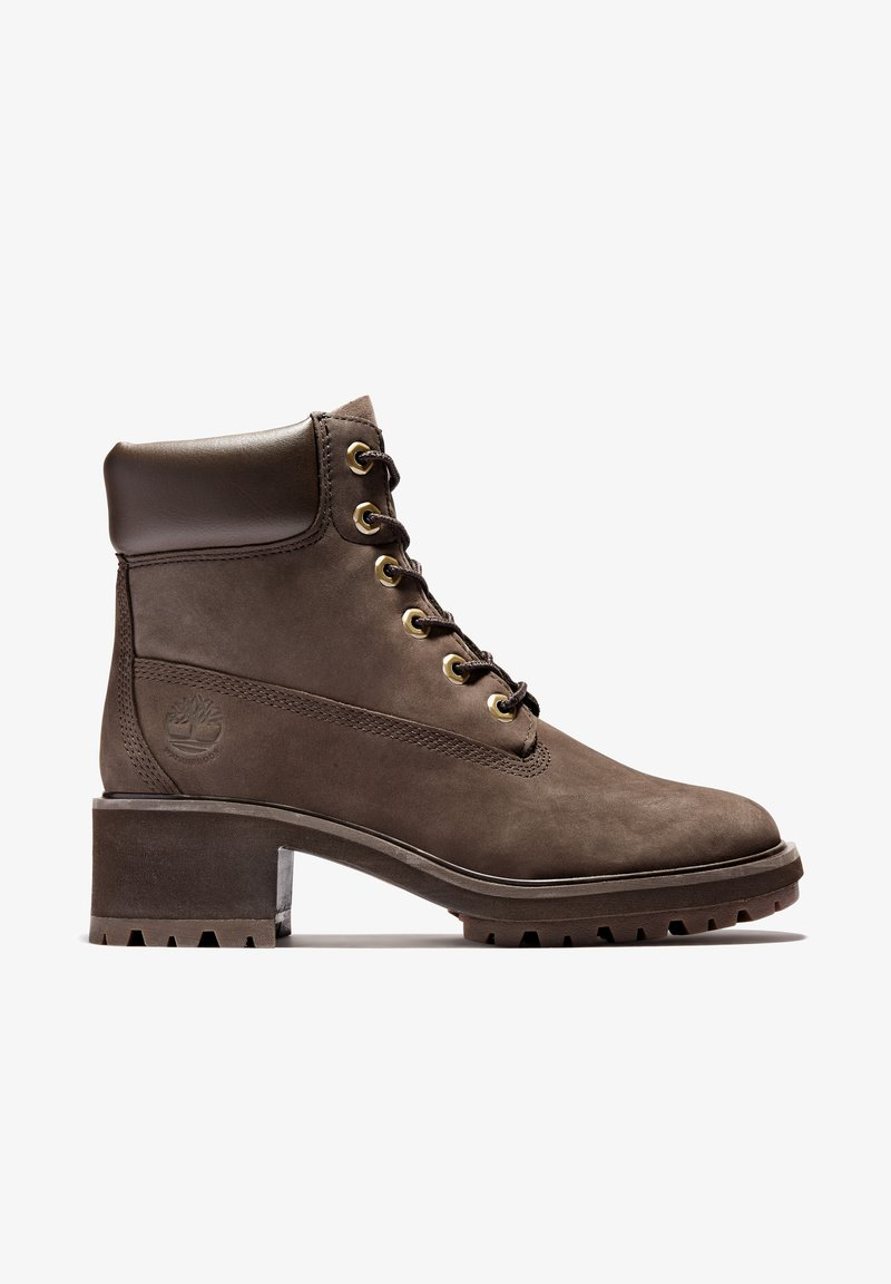 Timberland - KINSLEY 6 INCH WP - Lace-up ankle boots - dark brown nubuck