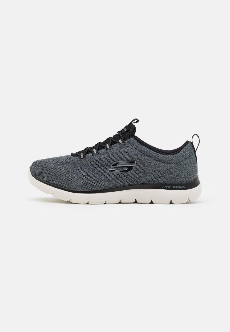 Skechers Sport - SUMMITS LOUVIN - Sneakers basse - black/white