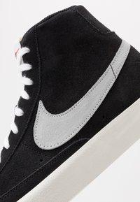 Nike Sportswear - BLAZER MID '77 - Sneakers high - black/pure platinum/sail/white - 3