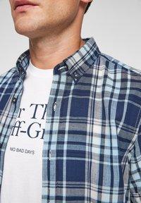 s.Oliver - Shirt - blue/white check - 3