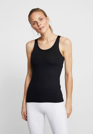 DEEP BACK TANK - Top - black