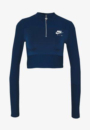 AIR - Topper langermet - valerian blue/ice silver