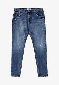 PULL&BEAR - Slim fit jeans - mottled blue - 6