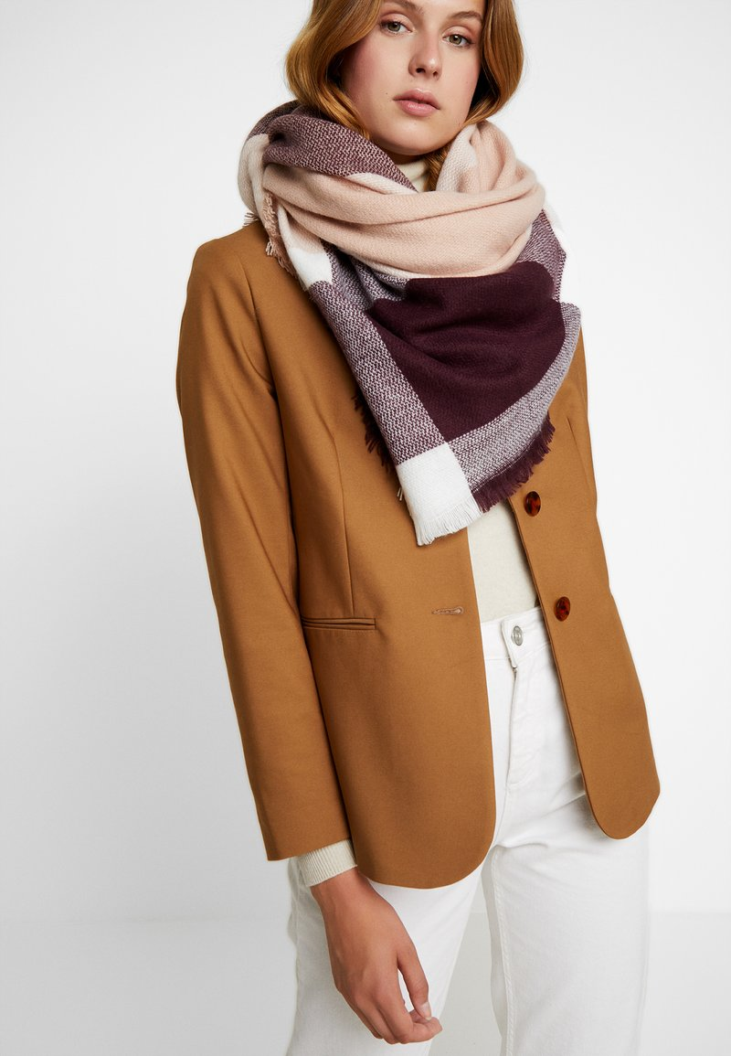 mint&berry - Scarf - bordeaux
