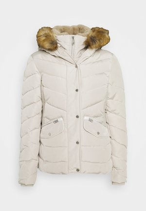 SIGNATURE PUFFER JACKET - Winter jacket - dusty alabaster