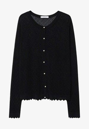 YUKA - Cardigan - zwart