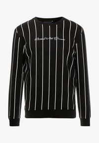 Kings Will Dream - CLIFTON WITH VERTICAL STRIPE - Sweatshirt - black - 3