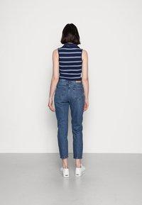 Vero Moda - VMBRENDA  - Straight leg jeans - dark blue denim - 2