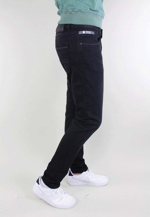 Gabbiano Jeansy Slim Fit - black denim/czarny denim Odzież Męska BVVY