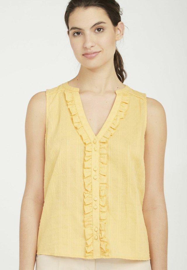 MENC12 - Blouse - yellow