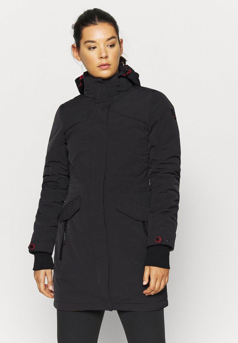 Killtec - GRINDAVIK - Zimní kabát - anthrazit